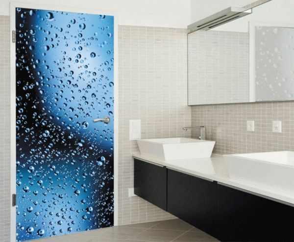 Фотообои для ванной комнаты должны быть влагоустойчивыми